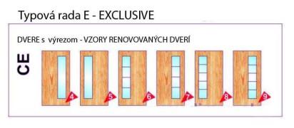 Dvere s výrezom – Exclusive