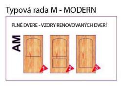 Dvere plné – Modern