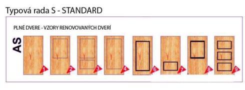Dvere plné – Standard